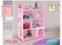 Castelo infantil 7comodos rosas