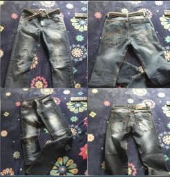 Vendo calça  jeans  menino  tamanho 14