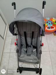 Vendo Carrinho de bebê Weego Way cinza (NOVO)