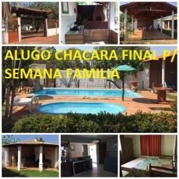 Alugo Chacará para seu fim d semana com a Familia e amigos excelente estrutura
