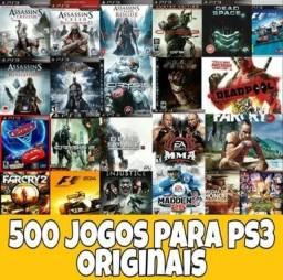 500 jogos pra play 3
