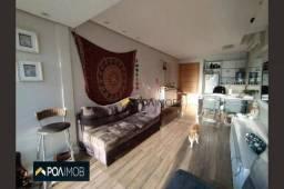 Apartamento com 2 dormitórios para alugar, 61 m² por R$ 2.200,00/mês - Petrópolis - Porto