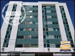 Apartamento com 2 dormitórios para alugar, 64 m² por R$ 1.000,00/mês - Catolé - Campina Gr