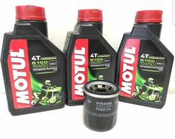 Kit troca de oleo Motul 5100 15w50