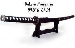 Espada Katana Grande Samurai Ninja Cosplay 105cm - Suporte Incluso