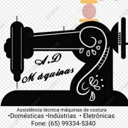 A.D Máquinas, assistência técnica de máquinas de costura.