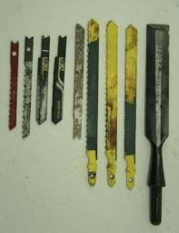 Lote ferramentas para madeira