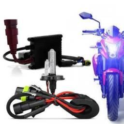 Kit Xenon moto instalação grátis