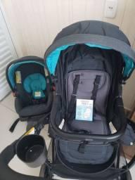 Carrinho de bebê+bebê conforto+base para carro