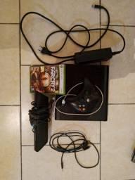 Xbox 360 semi novo+ Kinect por 600