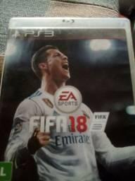 Fifa 18 troco por PES (PS3)