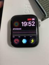 Vendo Apple Watch 5 44mm + Celular prata