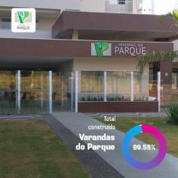 Apartamento de 2 Quartos e 2 Suítes com 72 m² na Orla do Parque Cascavel