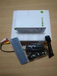 Projetor Excelvan Full Hd Yg310 Lcd 1080p 600 Lúmens Novo na caixa com NF
