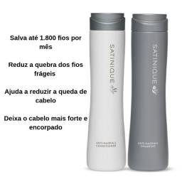 Shampoo E Condicionador Satinique Anti Queda Pronta Entrega
