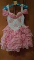 Vestido infantil TM 2 serve em 3