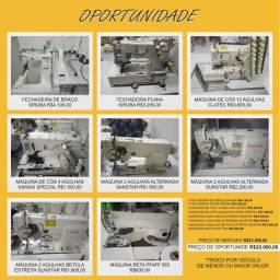 Lote de máquinas de costura (oportunidade)