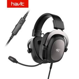 Headset Havit Gamer P/ Pc, Xbox One, Ps4. Aceito cartão
