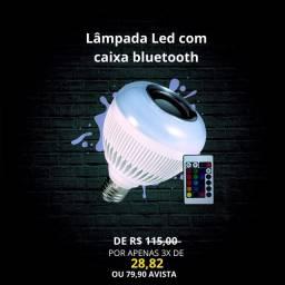 Lâmpada Led Bluetooth