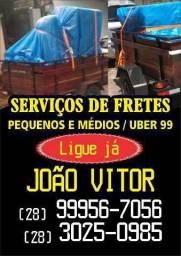 Pequenos fretes e Uber