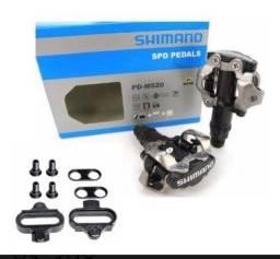 Pedal Shimano m520 novo