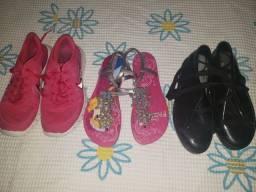 Lote calçados femininos