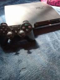 PS3 slim muito conservado