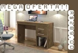 Mesa para escritório individual 2 Gavetas Mega Oferta !!!