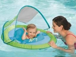 Boia infantil Com Capota Swimways Upf 50 - importada