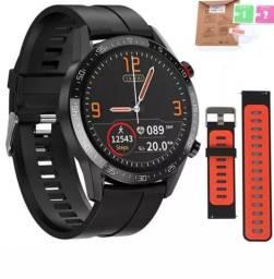 L13 Relógio inteligente smartwatch ip68 com ecg medidor de pressão arterial