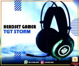 Headset Gamer tgt storm Led Rgb m26sd10sd20