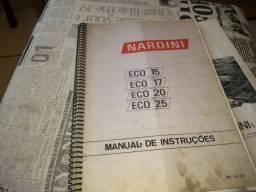 Manual do torno Nardini