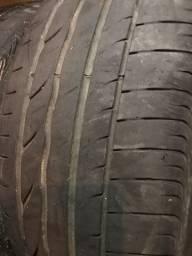 Vendo par de pneus 205/55/16