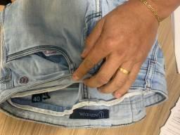 Calça jeans individual tamanho 40