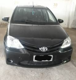Vendo Carro Etios 2017