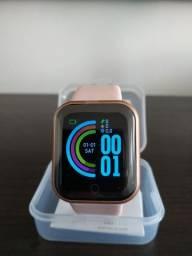 Relógio Smartwatch Rose ou Preto