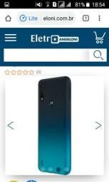 Vendo celular moto E6 Play 32gb zero na caixa
