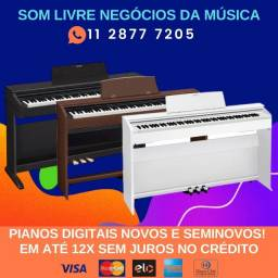 Piano Digital é na Som Livre! tudo em 12x sem juros