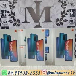 Xiaomi Redmi Note 9 64gb e 128gb + Fone