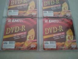 Mídia Gravável DVD-R 4,7GB EMTEC