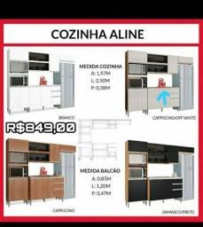 Iguarias - Armário de cozinha Aline