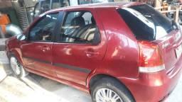 Automóvel, Fiat palio flex 1.3 2006 4 p vermelho