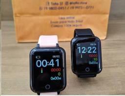 Smartwatch B57 Relógio Inteligente com 2 pulseiras / A Prova Dagua / Bateria Durável