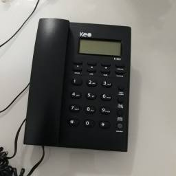 Telefone Com Fio Keo Grafite K302  - Usado