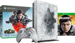 Xbox one X edição especial gears 5 novo apenas 2.200