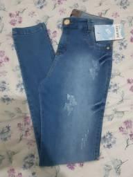 calças jeans tamanho 46