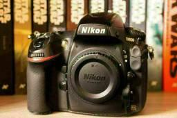Nikon d800 com caixa
