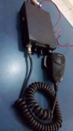 Rádio PX Cobra 19 DX IV e Antena com prolongador por $350
