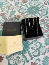 Cordão de ouro Cartier - Joalheria monte Carlos