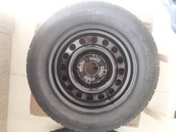 Pneu e Roda original esterpe Linha VW